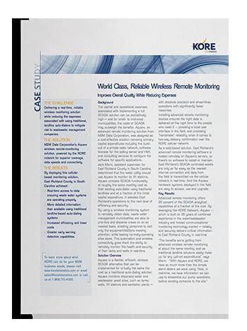 Case Study: M2M Data Corporation