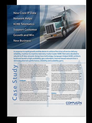 Case Study: KORE Geo-Redundant Network