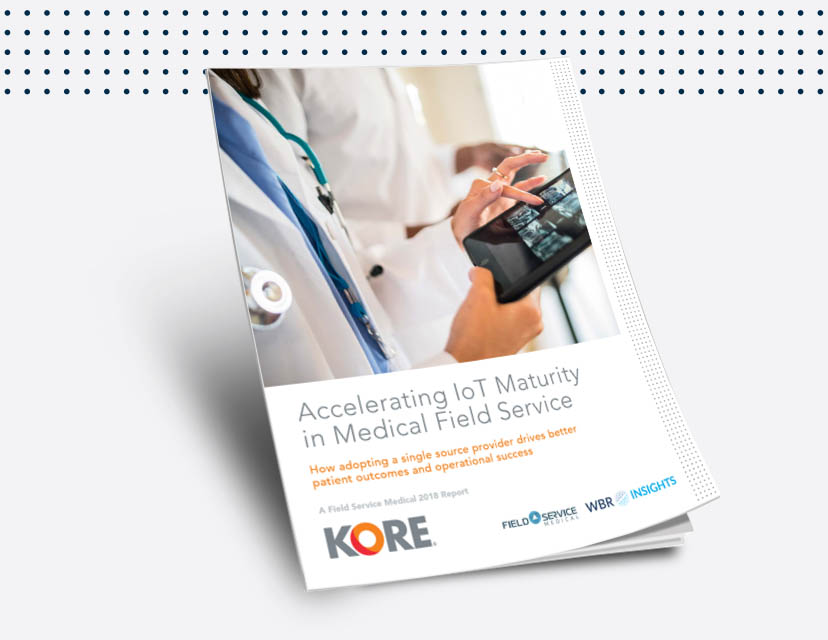 Download this ebook to learn more about how IoT healthcare is changing field services.