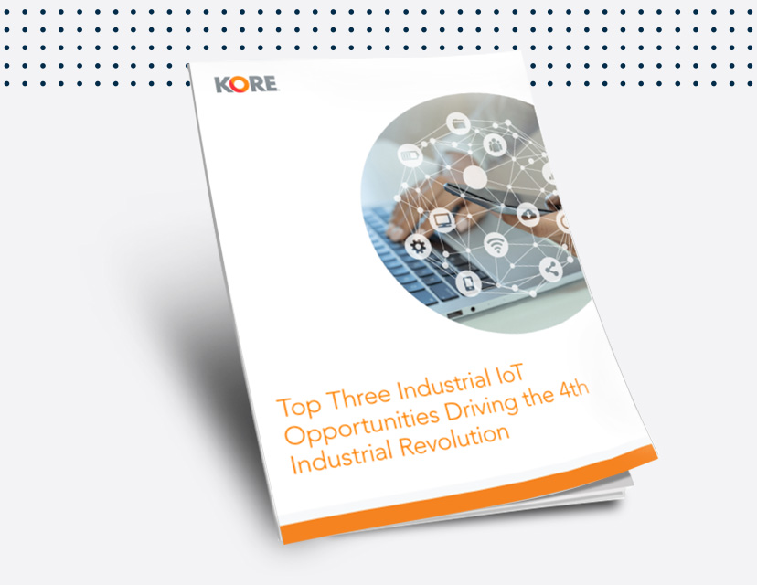 Download this guide to understand industrial IoT trends driving the 4th industrial revolution.