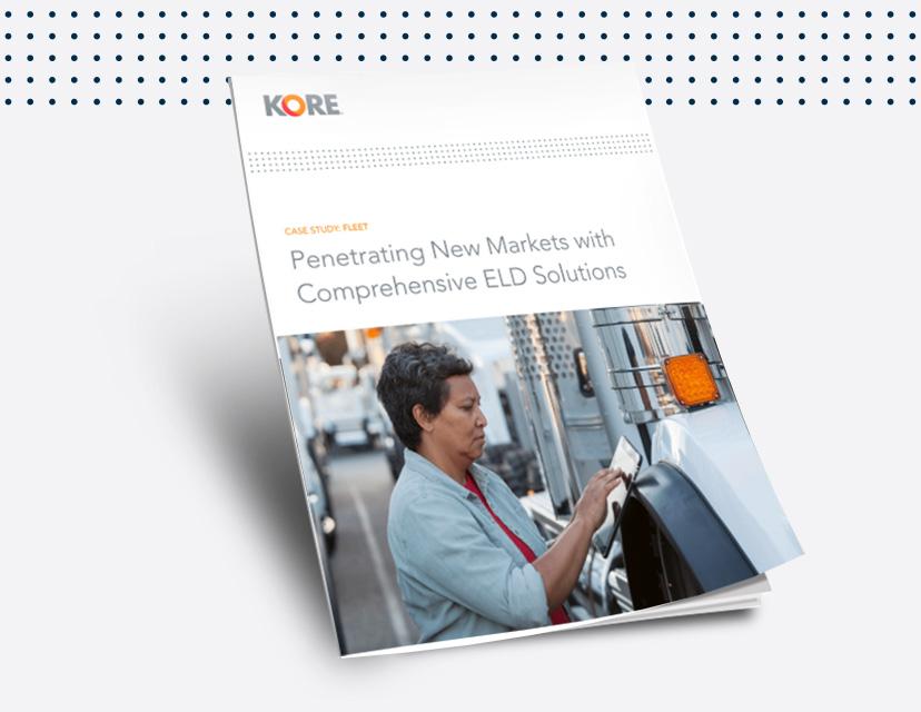 Learn how KORE helps meet global ELD mandates with fleet IoT.
