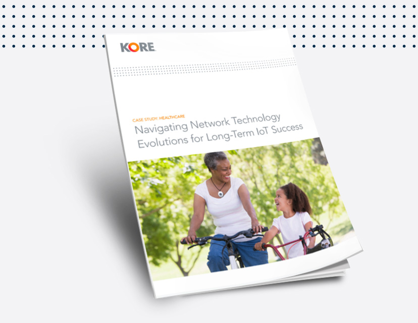 This case study explores how MobileHelp and KORE are overcoming network shutdowns in healthcare IoT.