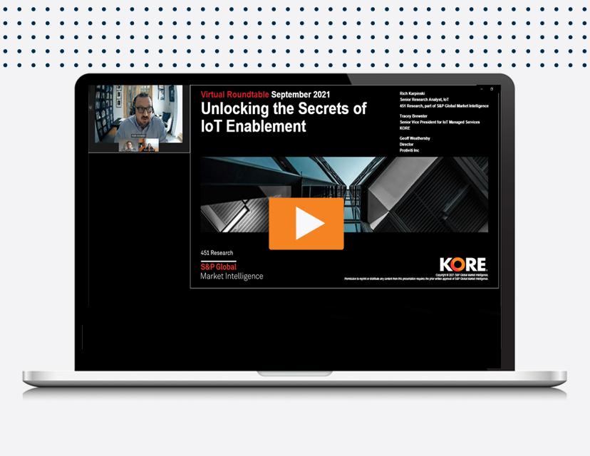 IoTMS Webinar landing page