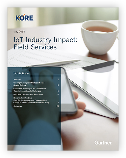 How is IoT impacting field service delivery?